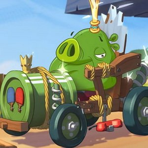 Angry Birds King Pig Puzzle